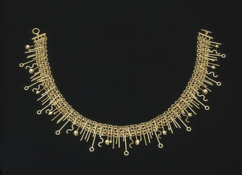 Suzan Rezac 18K gold necklace